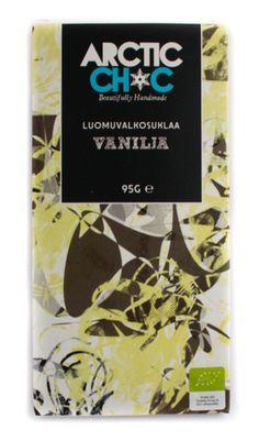 White Chocolate Vanilla bar #organic #handmade #chocolate #finland #Vanilla