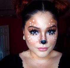 Deer makeup More