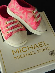 """MICHAEL KORS """"Baby"""" Crib Shoes at Dillards!!  YOU HAVE TO SEE THESE!"""
