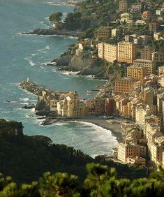 Beautiful Camogli, Italy   by Aldo Capurro   via travelingcolors