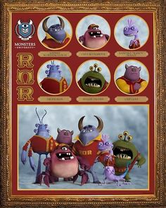 Roar Omega Roar and all the other fraternities and sororities from Monster University