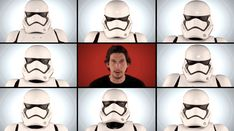 "The fact that none of the Stormtroopers/Roots can bop their heads at exactly the same time. | The ""Star Wars"" Cast Recorded An A Cappella Version Of The Famous Theme"