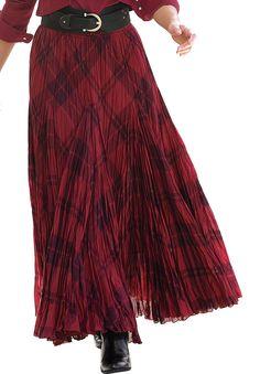 Cotton Crinkle Skirt | Plus Size Skirts | Jessica London