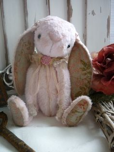Bun Bun Bunny Pattern from Luvly Bears by LuvlyBearsandthings, $12.00
