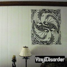 Dragon Wall Decal - Vinyl Decal - Car Decal - DC030