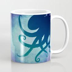 Indigo Mastermind ~ Octopus ~ Marine Life Mug