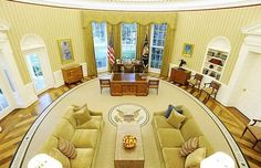 The Oval Office. :) the-celebrity-bucket-list-official
