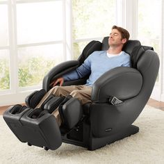 Brookstone Signature Massage Chair Created in Partnership with Inada $5500