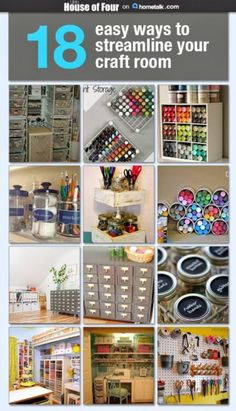 18 Ways for Streamlining Your Craft Room | Craft Gossip | Bloglovin'