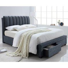 Milano Upholstered Queen Bed - MacLeods Furniture Court