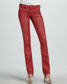 True Religion Shannon Mid-Rise Skinny Jeans