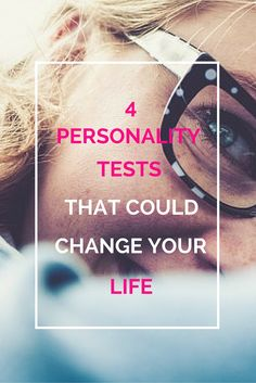 4 Personality Tests That Could Change Your Life - Niamh Gallagher