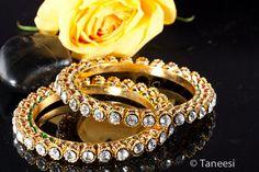 Royal Gold Banglewedding BangleRajasthani Bangri by taneesijewelry, $32.99