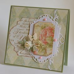 Thinking of You - 6x6 Card - Scrapbook.com