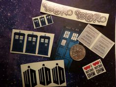 Doctor+Who+Temporary+Tattoos+by+14Too+on+Etsy Woohoo
