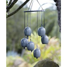 Kenzi Wind Chimes | Crate and Barrel. Love these. We need more wind chimes! I want to be able to hear them from my bedroom and kitchen window.