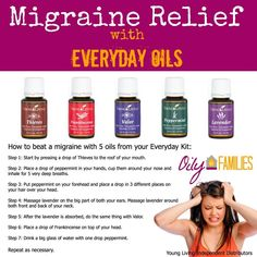 Young Living Essential Oils: #Migraine  LEARN MORE and ORDER HERE: https://barefut.com/?a=366