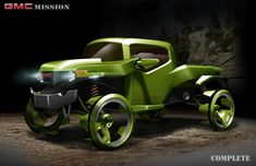 GMC Mission by Shane Harbour, via Behance