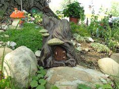 Fairy Garden Home Hidden Dwelling by HiddenWorlds on Etsy