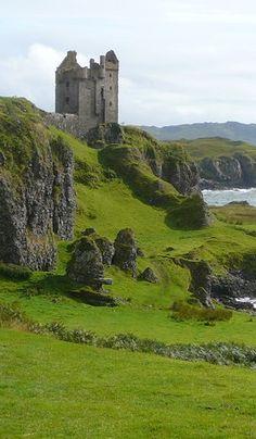 Gylen Castle on Kerrara Island, Scotland (short ferry from Oban)