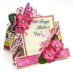 Scrap, Travel, and Bark!: Petaloo flowers and Mother's Day cards.