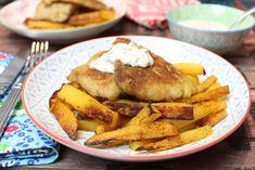 Low Carb Rezepte von Happy Carb: Fish and Chips.