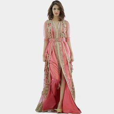 Cheap dresses elderly, Buy Quality kaftan blouses directly from China kaftan clothing Suppliers: Robe De Soiree African Dubai Caftan Ladies Formal Gowns Long Pink Abaya Moroccan Kaftan Evening Dresses With Sleeves Gold Beaded