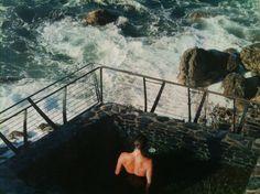 Esalen hot springs. WOW