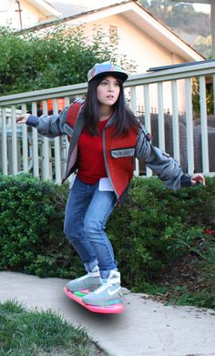 Marty McFly Cosplay