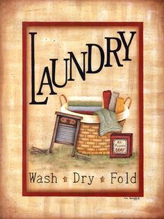 Laundry by Lisa Kennedy art print