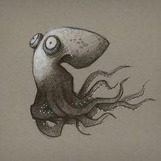 Octopus Art Print