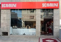 Scavolini Store Casablanca. The brand new Scavolini Store Casablanca is be inaugurated on Wednesday February 22nd 2012.  A wonderful showcase of 120sq.m. in the north of Morocco whose opening has been launched by a prominent bill-boarding campaign that is still covering conspicuously the whole city.  Exclusively dedicated to the Scavolini #kitchens display, the new Scavolini Store Casablanca fully represents our brand philosophy and product style. #Scavolini #ScavoliniStore #Casablanca