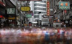 Hong Kong City Movement – Long Exposure Photography by Brian Yen