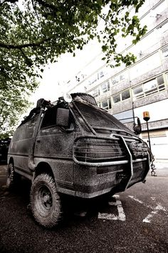 What rig will you use to survive the Zombie Apocalypse? Tell us what your driving when you enter to win survival gear at 4WD