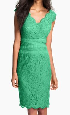 Pretty Embroidered Lace Sheath Dress http://rstyle.me/n/tnykebh9c7