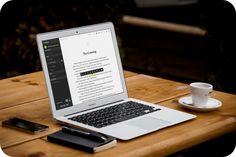 Você pode escrever, direto na tela, o seu livro. E ainda exportar para formatos populares como ePub e PDF. E totalmente grátis.