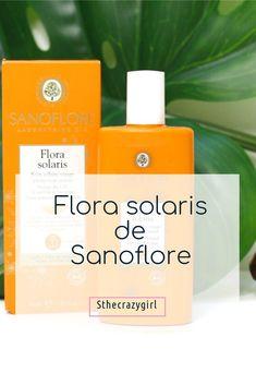 Flora solaris de sanoflore encore une réussite? http://sthecrazygirl.blogspot.fr/2017/07/flora-solaris-la-nouveaute-de-sanoflore.html #ete #sanoflore #beauty #beaute #blog #bio