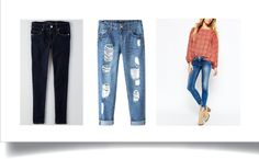 Classic Pair of Jeans - the only staples you'll need in college