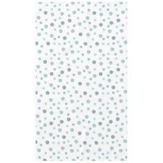 Blue Watercolor Dots Tablecloth