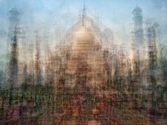 Dozens Of Snapshots Create Spastic Images Of Landmarks | The Creators Project