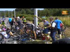 Caída Tour de Francia etapa 3 2015. Fall Tour de France Stage 3 2015