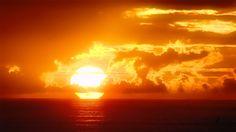 sunset ocean   Beautiful Ocean Sunset