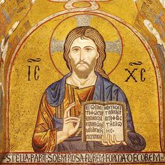 Unknown Artist. Christ Pantocrator. Capella Palatina. Palermo (Sicily) ITALY. circa 1140