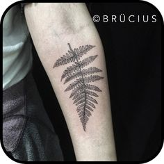 #BRÜCIUS #TATTOO #SF #SanFrancisco #brucius #engraving #etching #sculptoroflines #dotwork #blackwork #pen #ink #linespecialist #fern