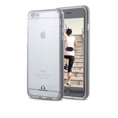 iPhone 6s Case, GearBeast iPhone 6s and iPhone 6 (2014 version) Protective Case Aluminum Rail Thin TPU Scratch Protection [Perfect Fit] Clear Back Stylish Bumper Case [Easy Install]. ACCESSORIZE AND PROTECT - Gear Beast TPU cases are special treated to prevent fingerprints, scratches and resist stains. The TPU is flexible for easy installation and soft to the touch improving grip to reduce the chance of accidental drops. EYE-CATCHING ALUMINUM RAIL - The clear back shell allows you to show...