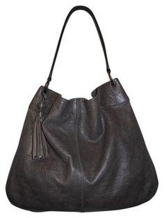c7a47e9fdd7d Banana Republic Croc Enbossed Leather Hobo Bag  45 Hobo Bags