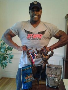 "If you haven't had an opportunity yet, you'll definitely want to give the fine folks at Ripped Cream a look-see and a ""Like"" Skip Robinson 2013 NPC Max NPC Max Muscle Virginia Men's Bodybuilding Overall Champion"