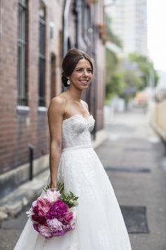 Beautiful Leah Da Gloria Inbal Dror inspired Lace Size Wedding Dress For Sale Still