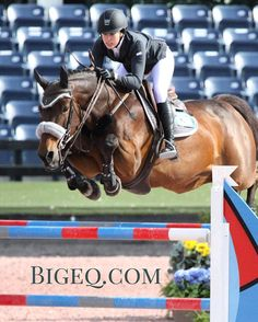 Olivia Pope and Nikki Carr cruising in the AO Jumpers (at WEF - Winter Equestrian Festival)