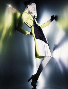 Julia Sarner by Greg Kadel … Labyrinthe, Numéro magazine, February 2011…